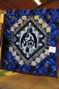 Star Wars quilt made for my Grandson Cody